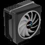 Aerocool Cylon 4F 12cm ARGB Şeffaf Fan İşlemci Soğutucu