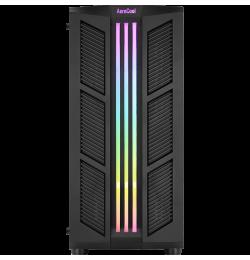 Aerocool Prime RGB 2 x 12cm Siyah Fan ATX Oyuncu Kasası