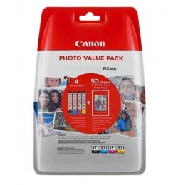 Canon CLI-571 BK/C/M/Y P M.P 0386C006