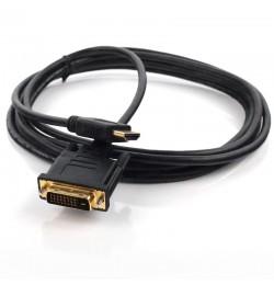 Dark 1.8m DVI - HDMI Çift Yönlü Görüntü Bağlantı Kablosu