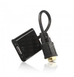 Dark DVI-D to VGA Aktif Dönüştürücü Kablo (DVI-D Erkek - VGA Dişi)
