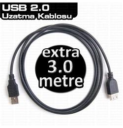 Dark USB 2.0 3m Uzatma Kablosu