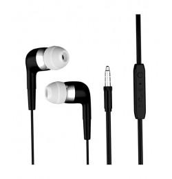 Dexim Mikrofonlu Kulakiçi Kulaklık Siyah