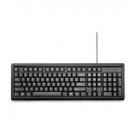 HP 100 Kablolu Klavye - Siyah (Türkçe)