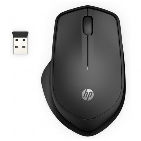 HP 280M Kablosuz Mouse - Siyah / 19U64AA