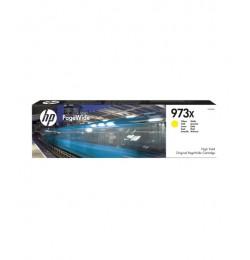 HP 973X Yüksek Kapasiteli Sarı Orijinal PageWide Kartuşu
