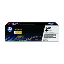 HP CE320A Black Toner Kartuş (128A)