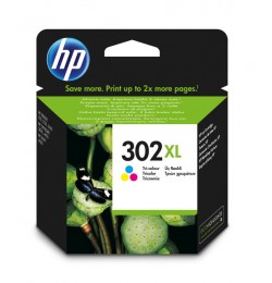 HP F6U67AE CMY Mürekkep Kartuş (302XL)