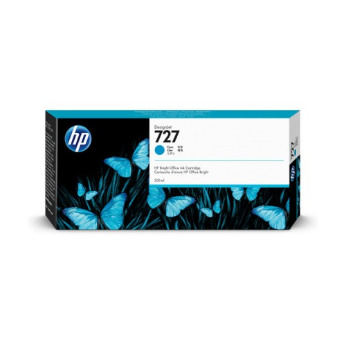 HP F9J76A Cyan Mürekkep Kartuş (727)