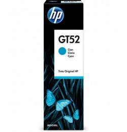 HP M0H54AE Cyan Original Ink Bottle (GT52)