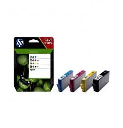 HP N9J73AE CMYK Mürekkep Kartuş (364)
