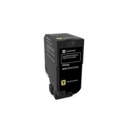 Lexmark CS720, CS725, CX725 Yellow Standard Yield Return Programme Toner Cartridge