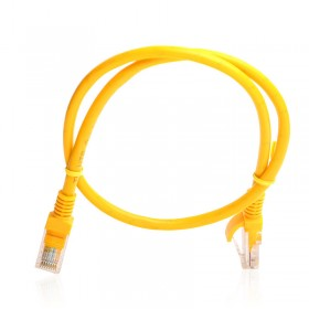 TX 0,50M Cat5E CCA Solid UTP Sarı Network Kablosu