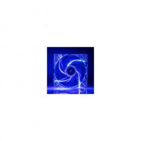 TX 12cm Mavi LED'li Sessiz Kasa Fanı