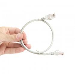 TX 1M Cat5E CCA Solid UTP Gri Network Kablosu