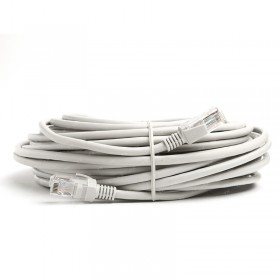 TX 20M Cat5E CCA Solid UTP Gri Network Kablo