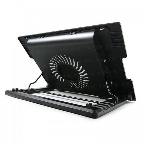 TX ErgoStand 14cm LED FAN'lı 5 x Yükseklik Ayarlı, 2 x USB 9