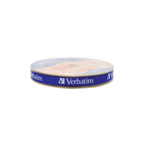 Verbatim 43729 DVD-R 10 Wrap Matt Silver 16x 4.7GB